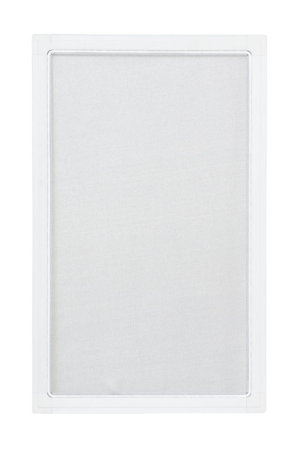 Moskitiery okienne Moskitiera ramkowa - biała, siatka szara
