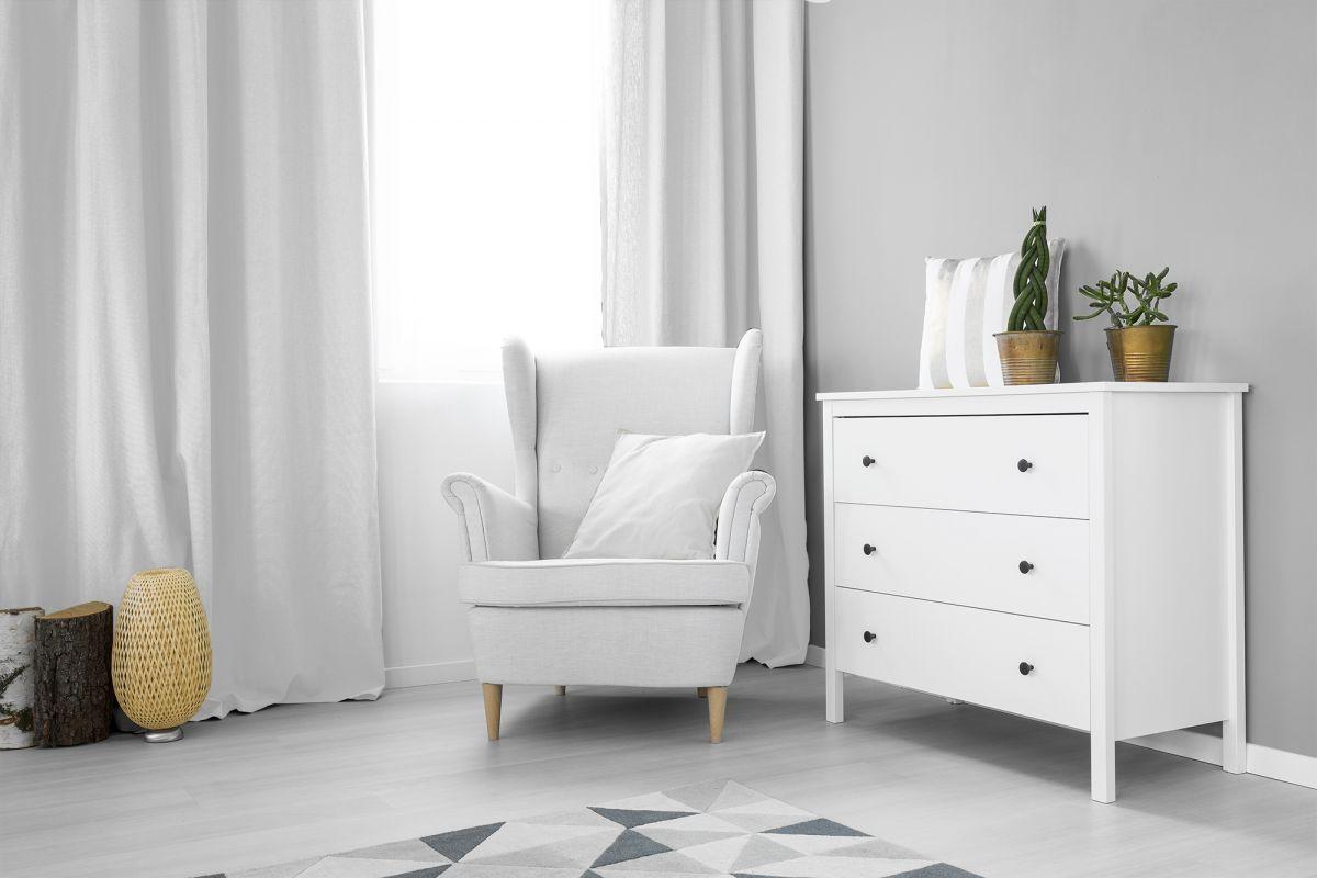 Zasłony okienne Zaciemniająca biała 140x250