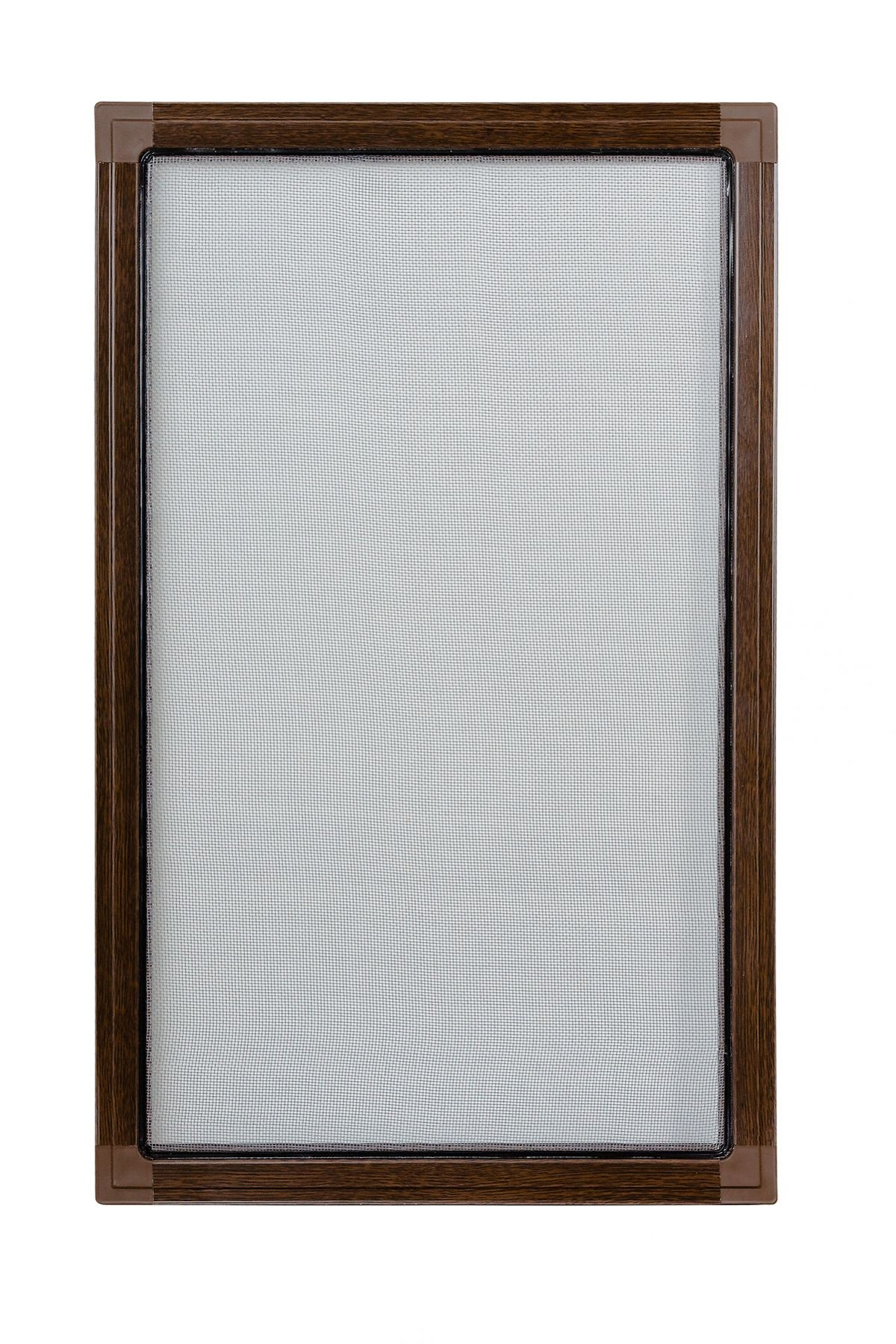 Moskitiery okienne Moskitiera ramkowa - orzech, siatka szara
