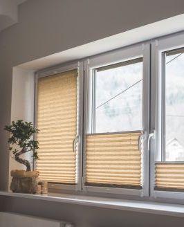 Plisy okienne na wymiar